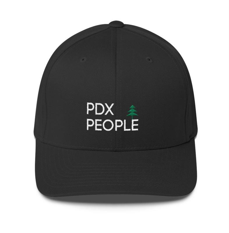 PDX People - Black Cap - FLEXFIT
