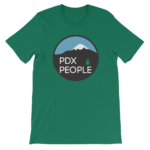 PDX People – Mt Hood – T Shirt - Kelly Green
