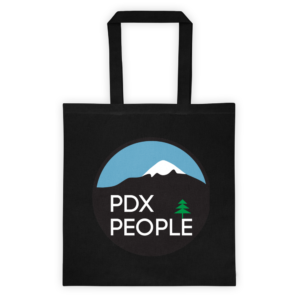 PDX People - Mt Hood - Tote Bag