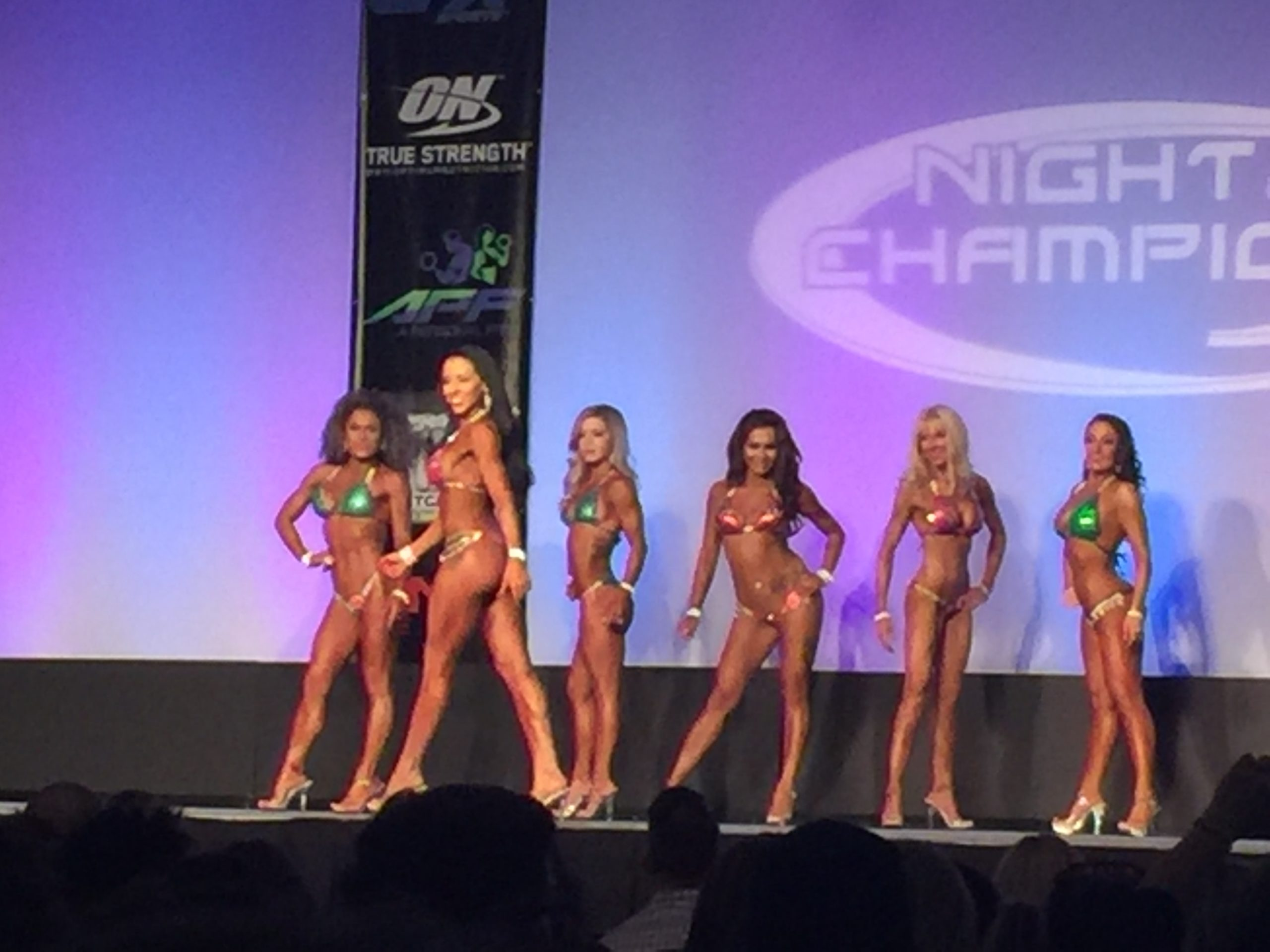 PDX Ladies Compete in the – Night of Champions
