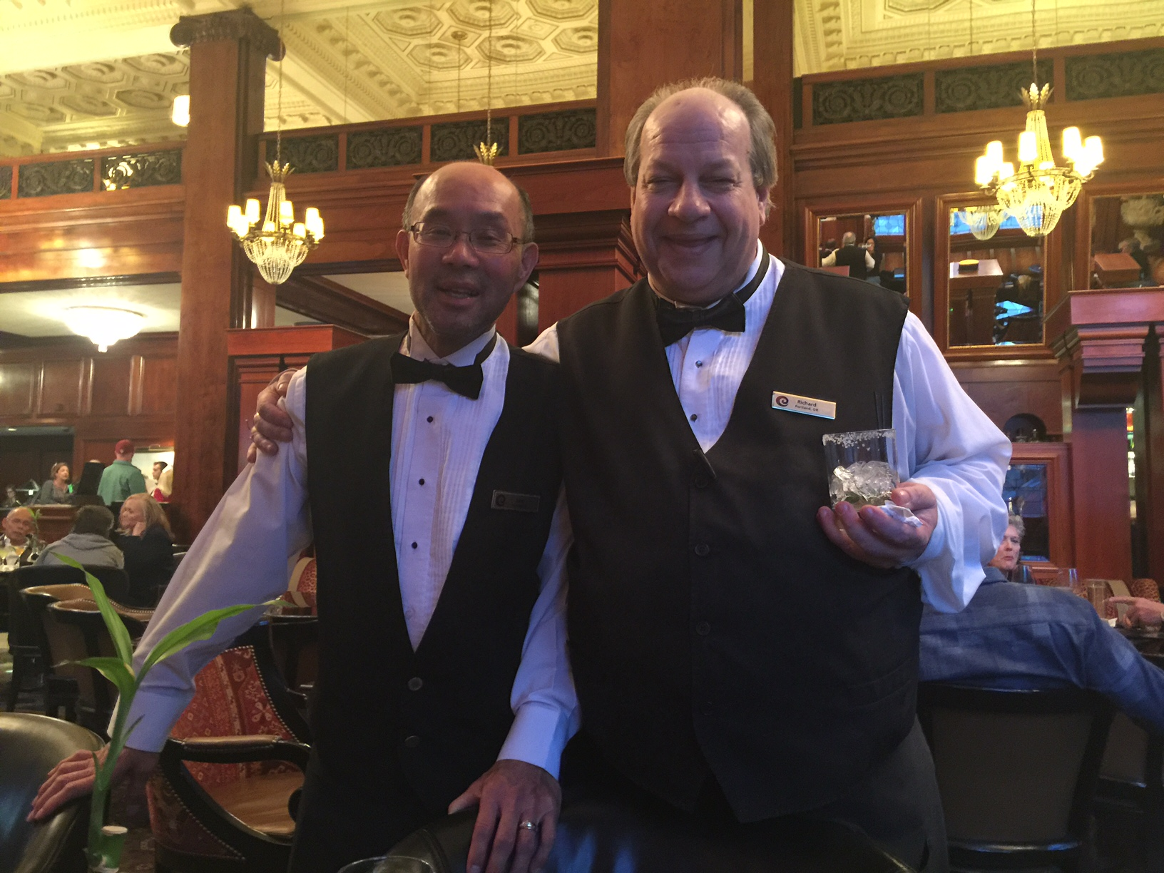John Louie and Richard French – Making it Happen!