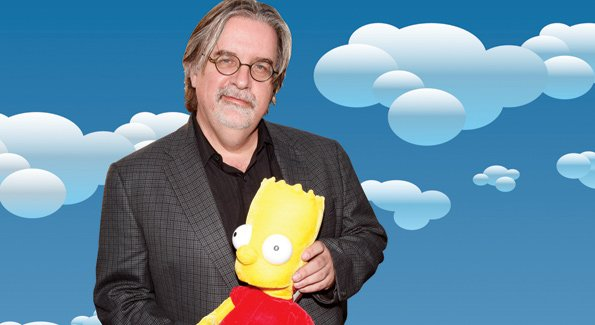 Matt Groening the Most Well-Known Celeb from Portland Oregon