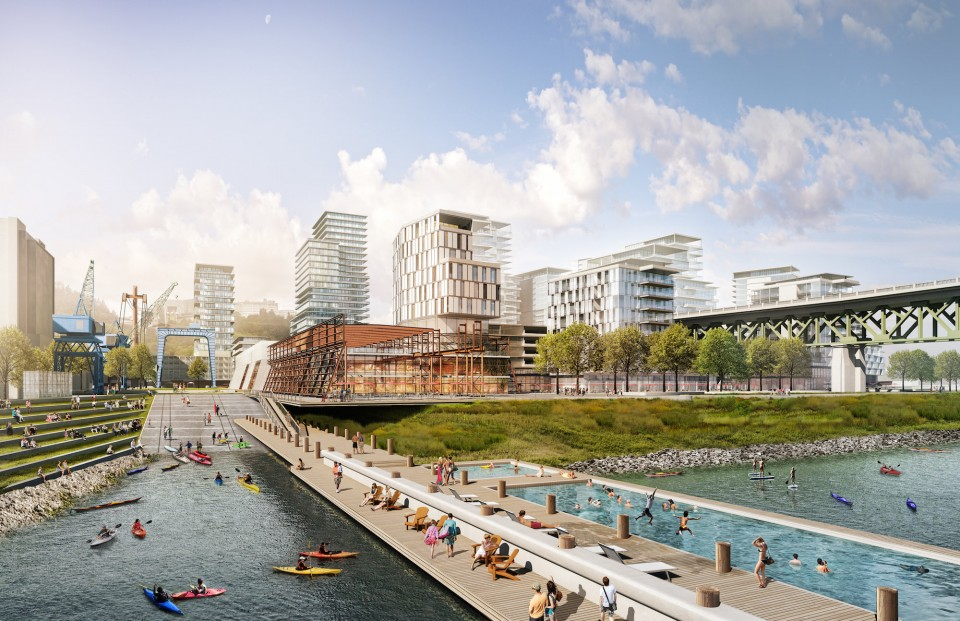 Could this be Portland's South Waterfront?