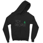 PDX People - Zip - Hoodie - Black