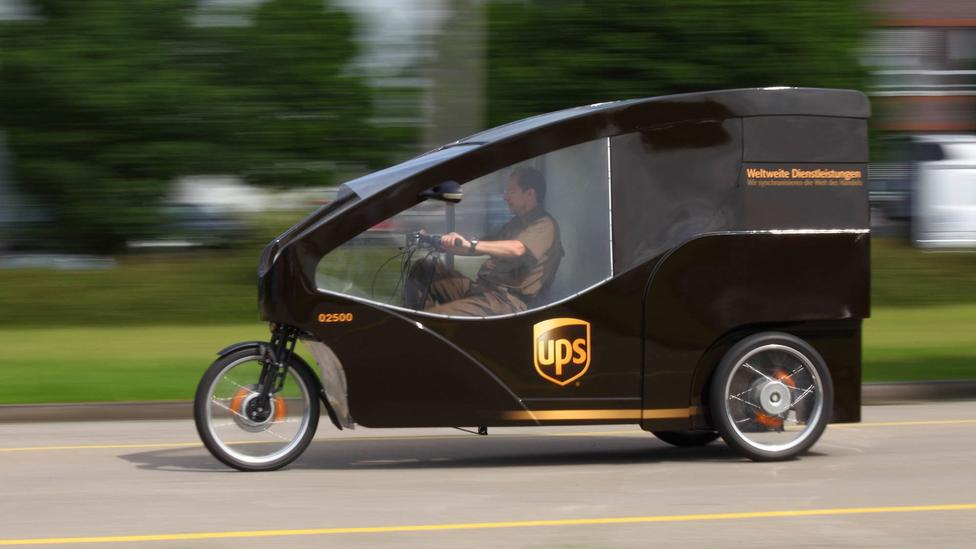 UPS Brings Delivery By Electric Bike To Portland Oregon