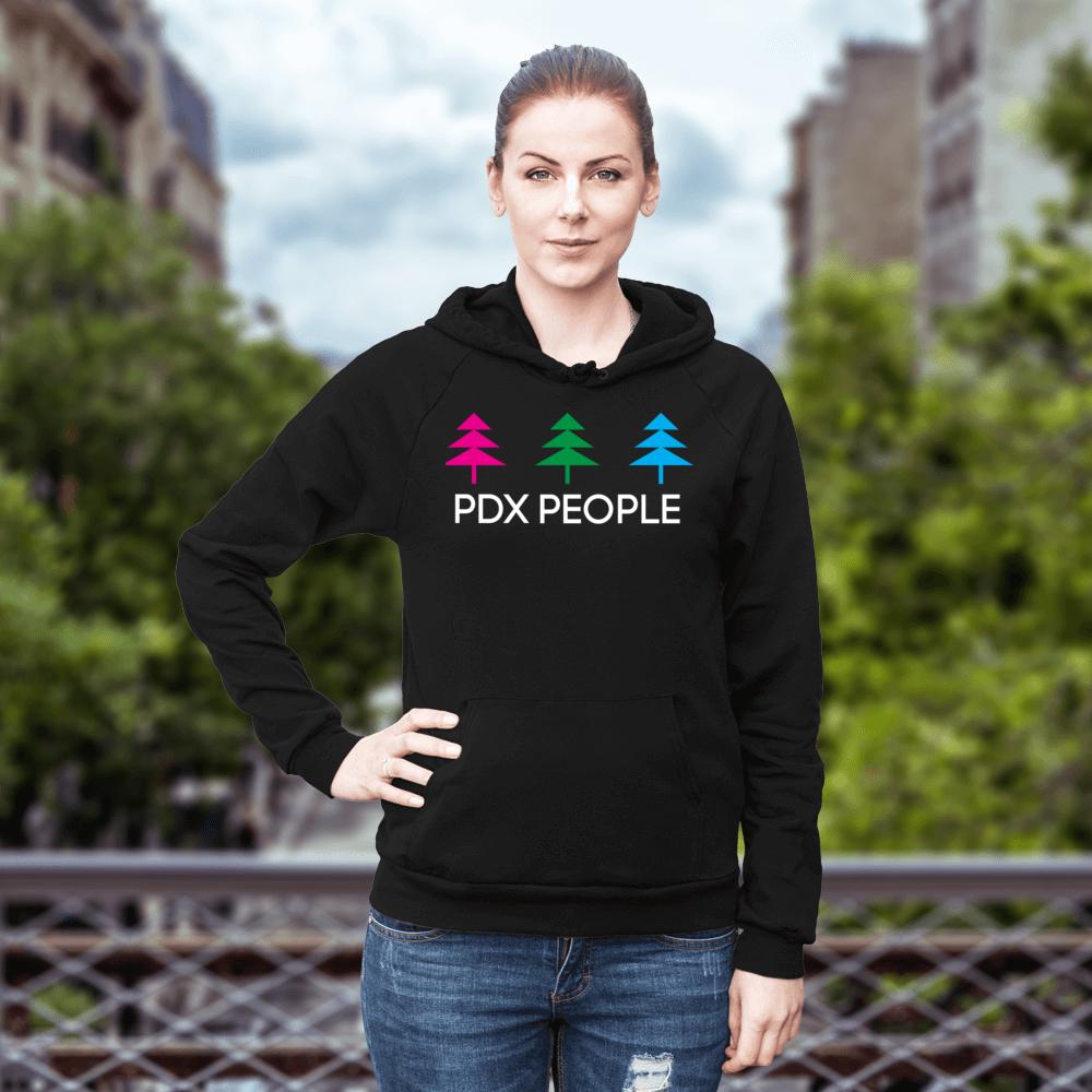 PDX People - Diversity - Black - Hoodie