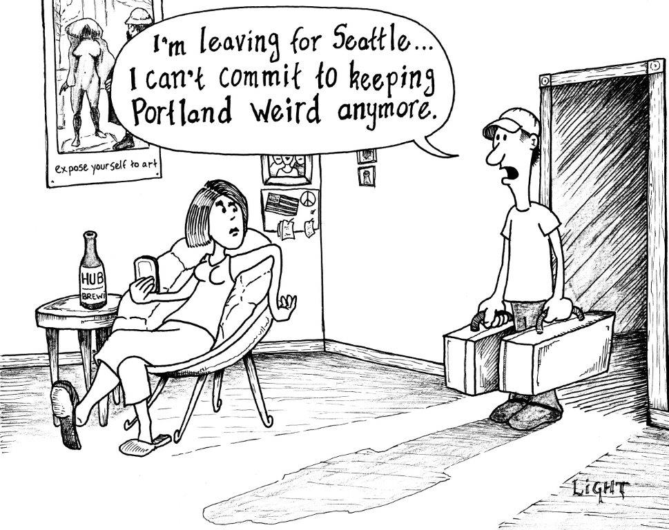 Cant-Commit - PDX Funnies