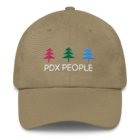 PDX People - Women's Classic - DAD Cap - Khaki