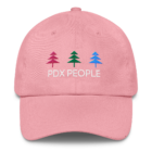 PDX People - Women's Classic - DAD Cap - Pink