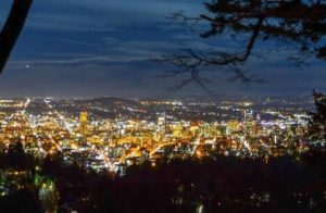 PDX City at Night