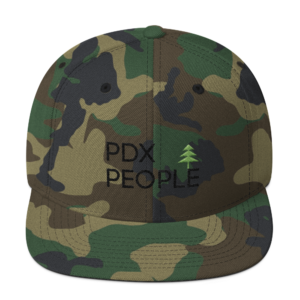 PDX - Portland Hats – Green Camo - Caps