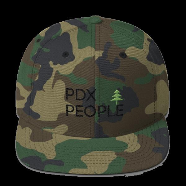 PDX - Portland Hats – Green Camo - Caps