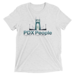 PDX People - St Johns Bridge - Whit Fleck - Tee Shirt