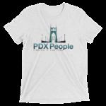 PDX People - St Johns Bridge - Whit Fleck - Tee Shirt