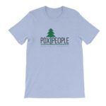 PDX People – T Shirt – Heather Blue