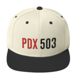 PDX503 Hat - Natural/Black