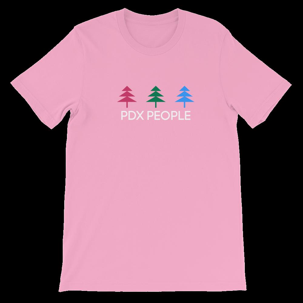 3 Tree T Shirt - Pink