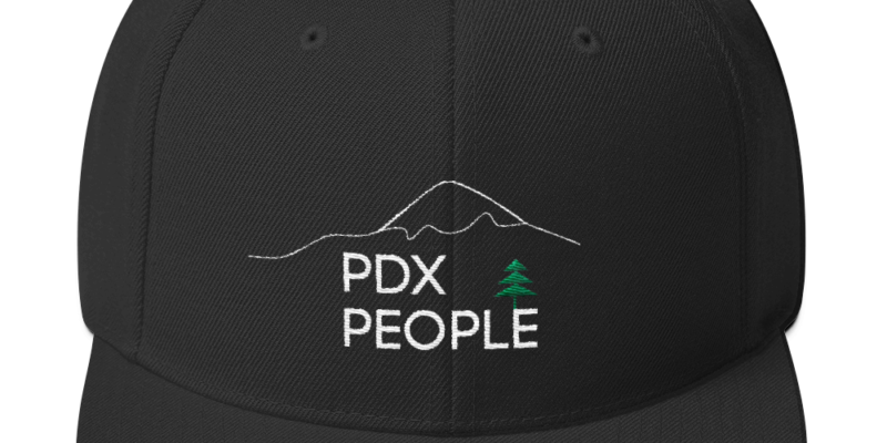 PDX People – Mt Hood – Sketch - Hat