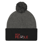 Pom Pom Beanie - PDX Bike People