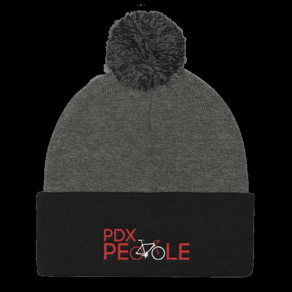 Pom Pom Beanie - PDX Bike People