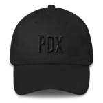 PDX 503 - Dad Hat - Black