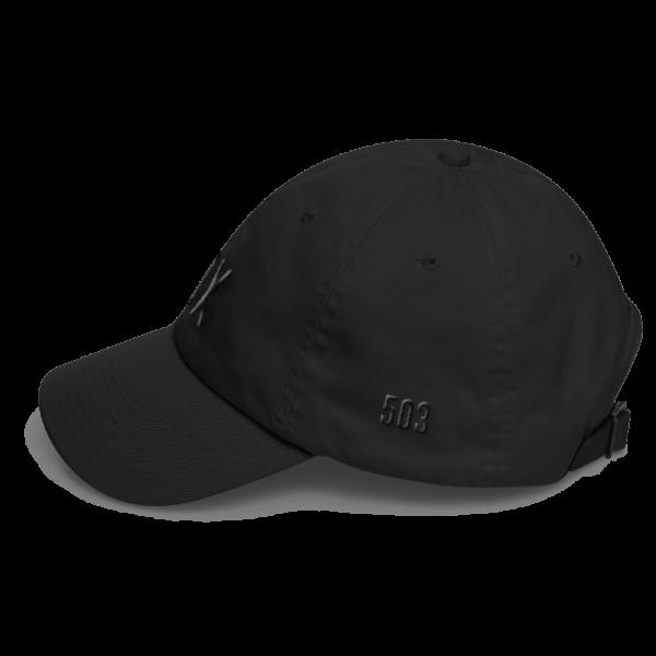 PDX 503 Dad Hat - Side View