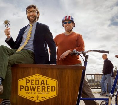 Boaz Frankel – Host of The Pedal Powered Talk Show