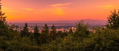 Sunset from council Crest- photo by @solarson1989usa