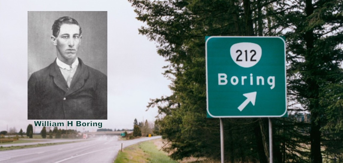 People from Portland Oregon – Learn More About William Boring, Founder of Boring OR