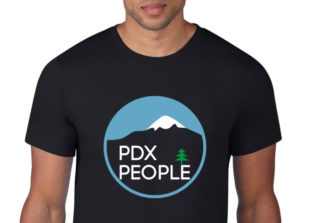 PDX People Gear - New MT Hood - T Shirts