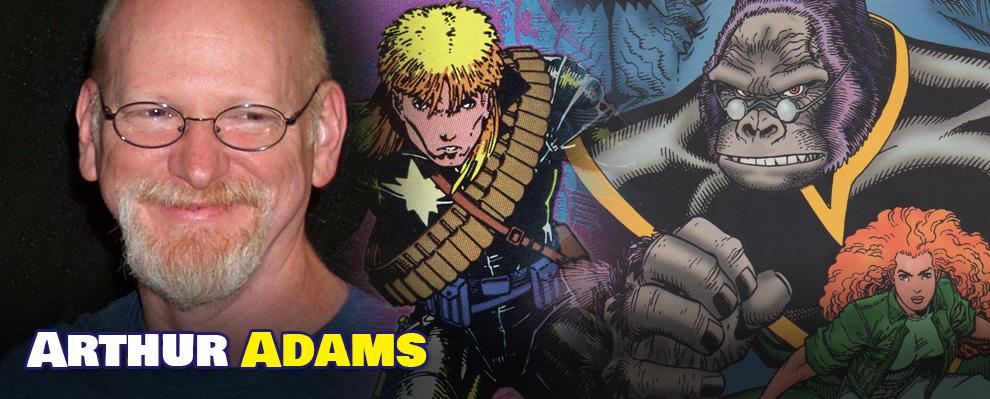 Arthur Adams – Acclaimed Comic Book Artist