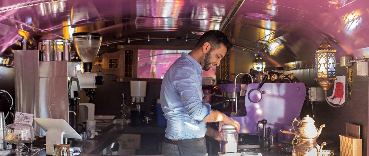 Joe Nazir – Owner of ToV Coffee in Portland Oregon