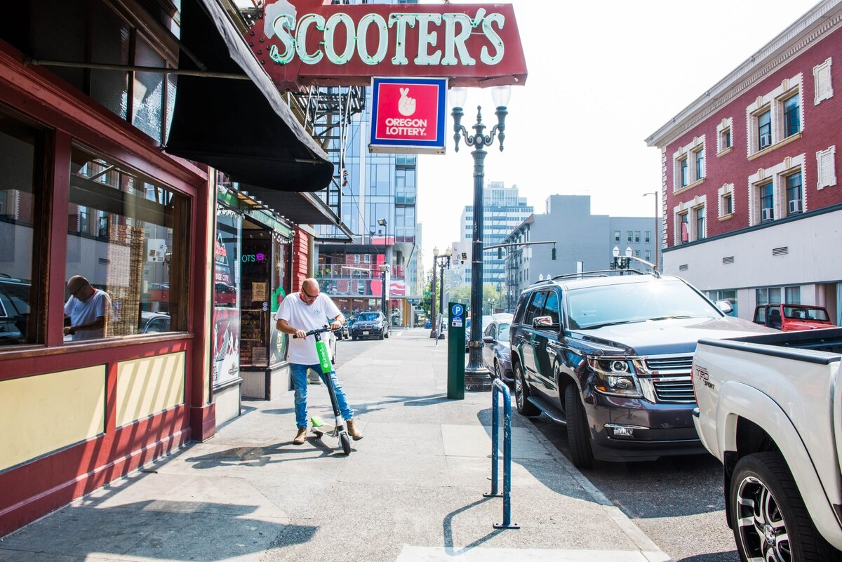 Come To Portland And Rent A Scooter